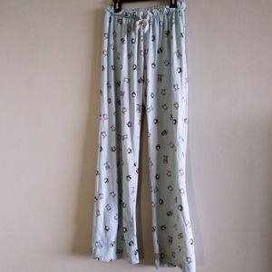 Ardene Woman Blue Graphic Coffee Pajama Pants XS